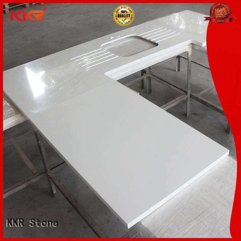 smooth kitchen countertops for wholesale for shoolbuilding KKR Stone