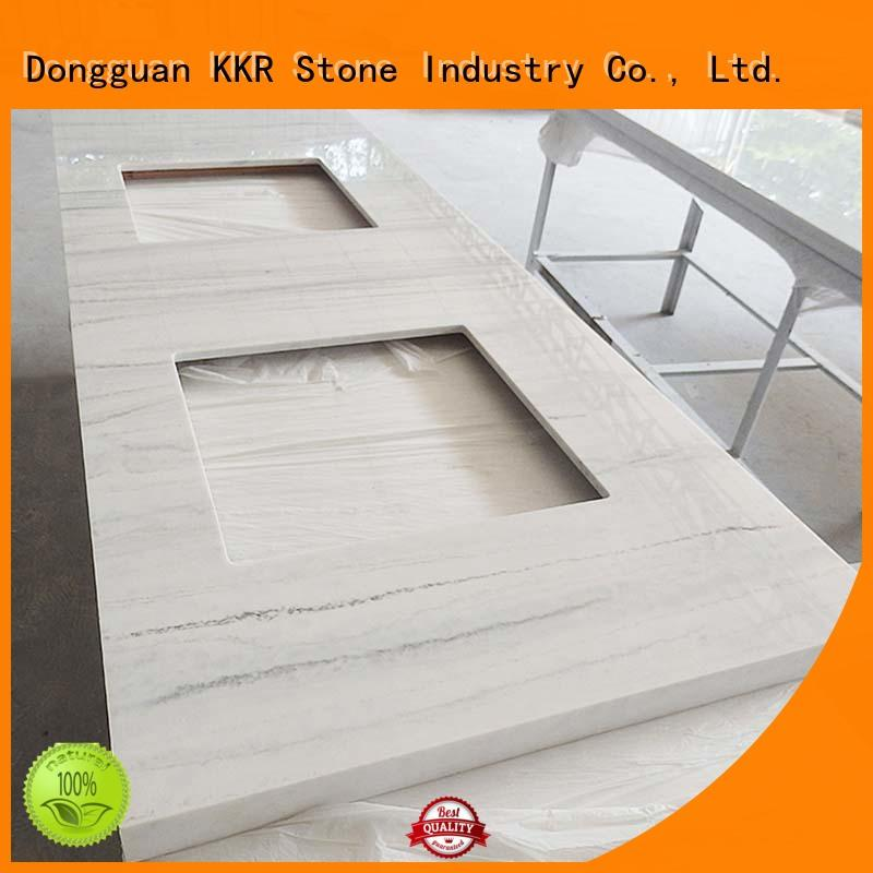 KKR Stone solid solid surface countertop for worktops