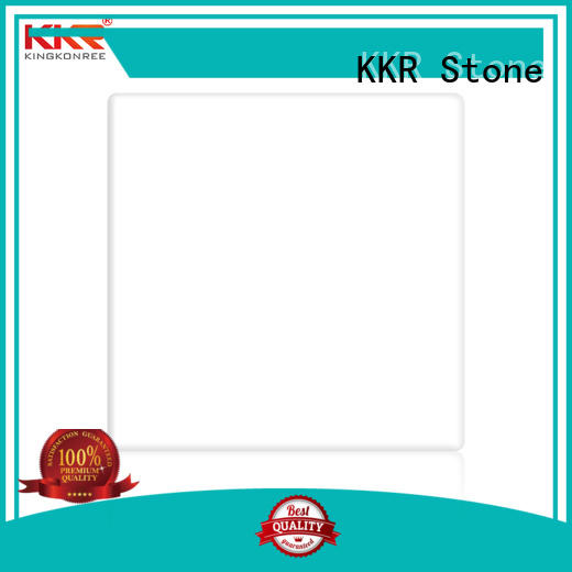 KKR Stone colorful solid surface big slabs superior stain for self-taught