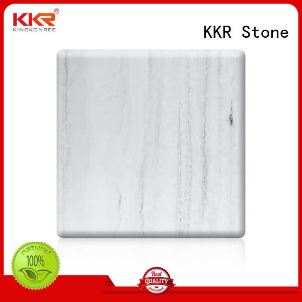 solid solid surface sheets for sale inch for bar table KKR Stone