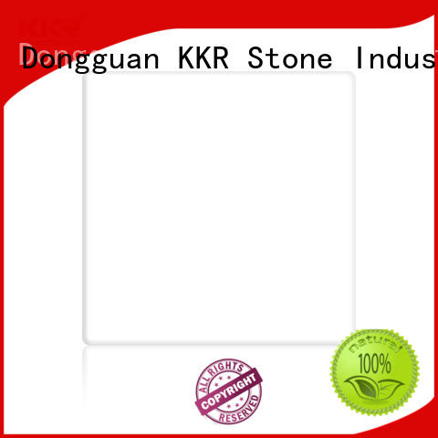 KKR Stone renewable solid surface acrylics glacier for garden table