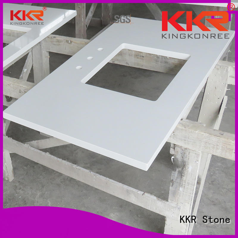 KKR Stone pattern solid surface countertop China for early education