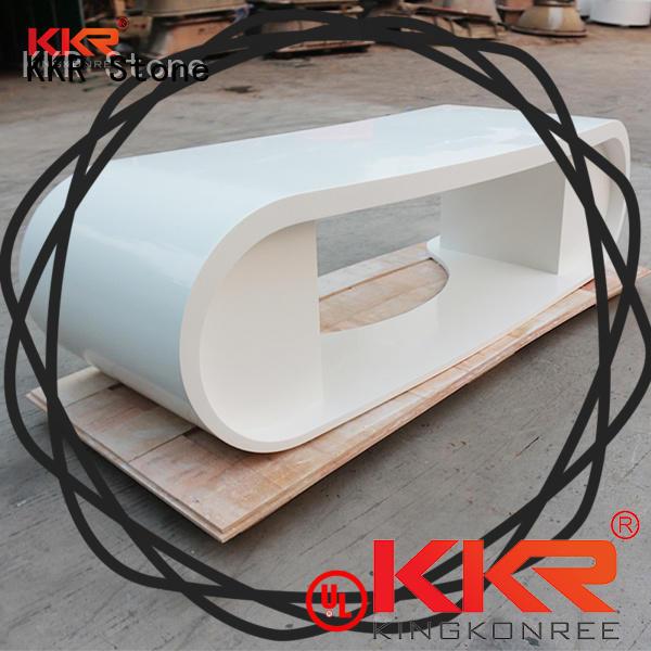 KKR Stone fashion design solid surface desk for bar table