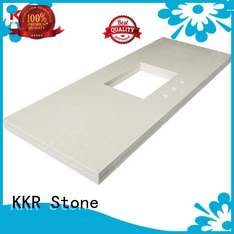 KKR Stone custom-made bathroom countertops certifications for school building