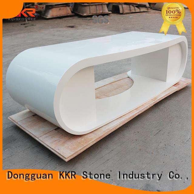 reception desk design meeting for worktops KKR Stone