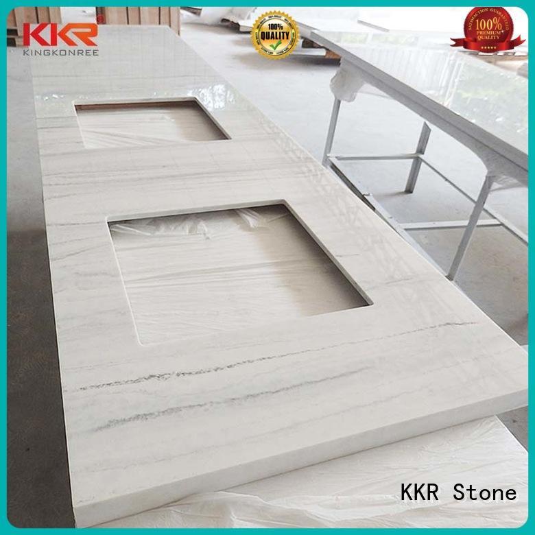 KKR Stone beige vanity top bathroom popular for kitchen tops