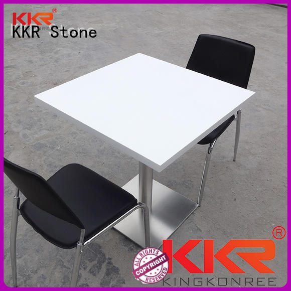 KKR Stone solid marble dining table round