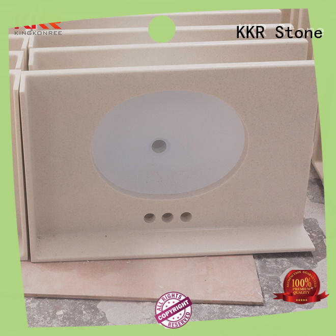 KKR Stone pattern vanity top bathroom popular for table tops