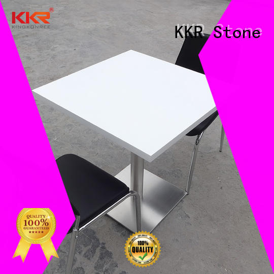 KKR Stone acrylic luxury marble dining table
