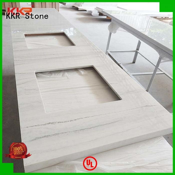 KKR Stone pattern bathroom tops popular for kitchen tops