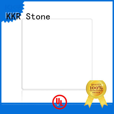 KKR Stone small modified acrylic solid surface superior chemical resistance for bar table