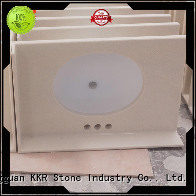 KKR Stone solid Surface acrylic solid surface countertops popular for home