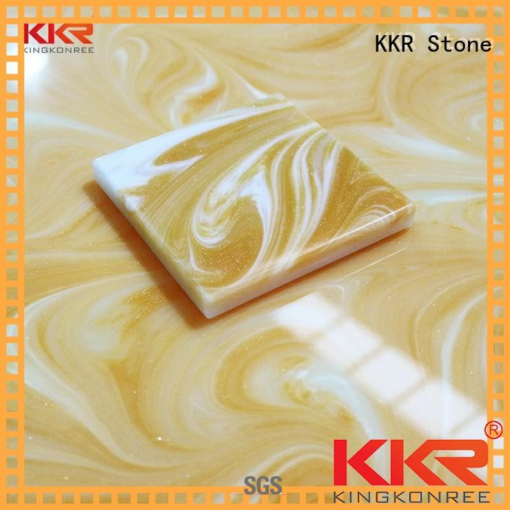 non-radioactive artificial translucent stone bulk production for home KKR Stone