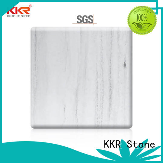 solid surface slab pattern for building KKR Stone