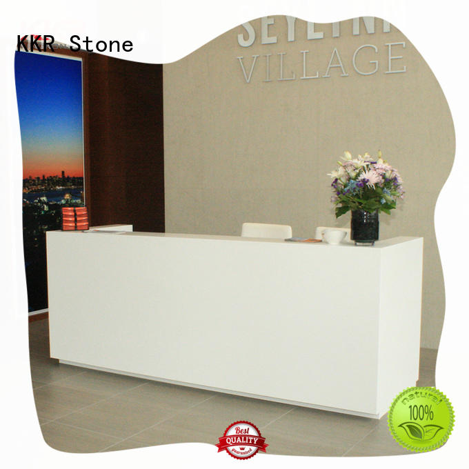 pure acrylic modern reception desk free quote for school building