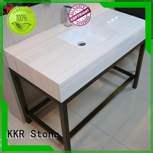 KKR Stone pattern bathroom tops for worktops