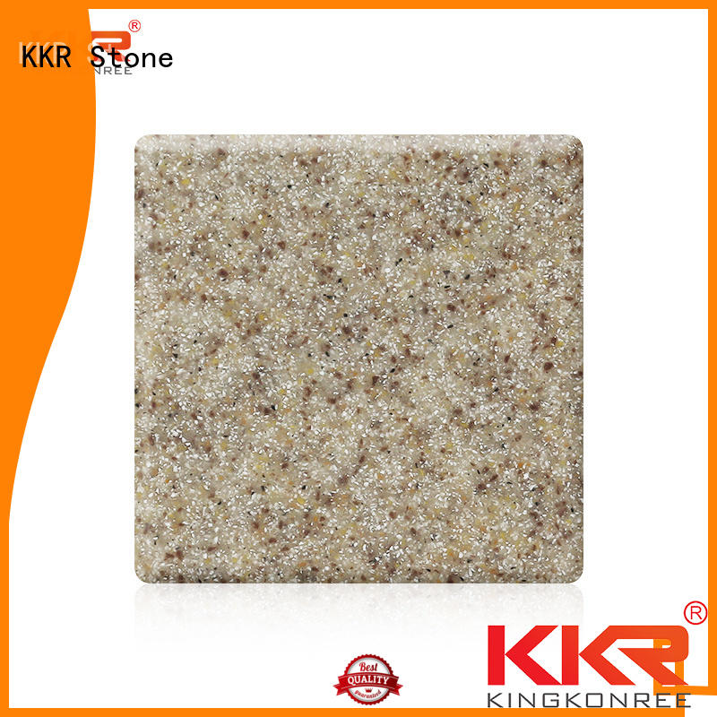 sheet solid surface sheet slabs sparkle for table tops KKR Stone