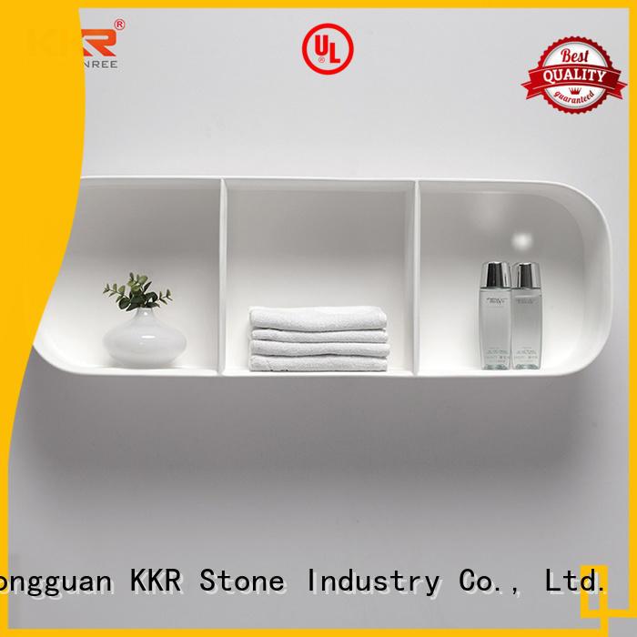 KKR Stone good Quality plexiglass shelves factory for home