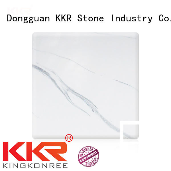 KKR Stone high-quality texture pattern solid surface factory for building