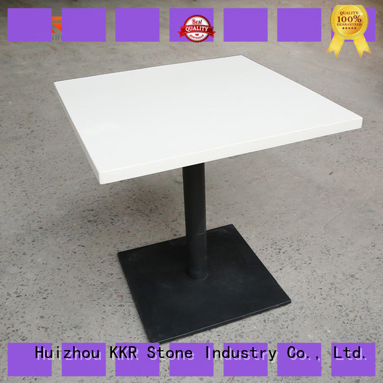 KKR Stone restaurant table set