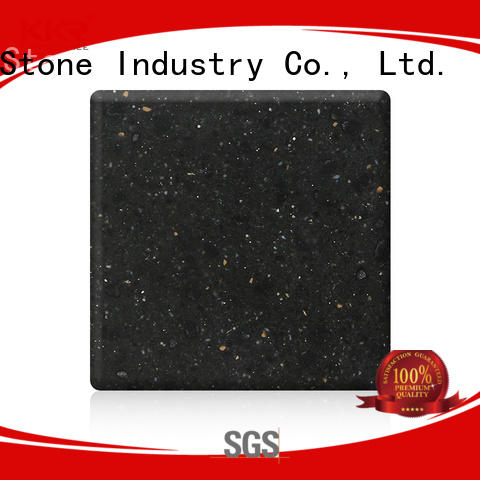 modified buy solid surface sheets superior chemical resistance for kitchen tops KKR Stone