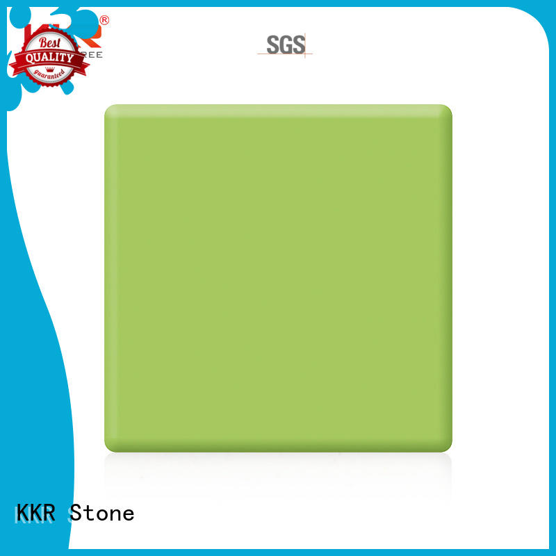 KKR Stone artificial solid surface order now for kitchen tops