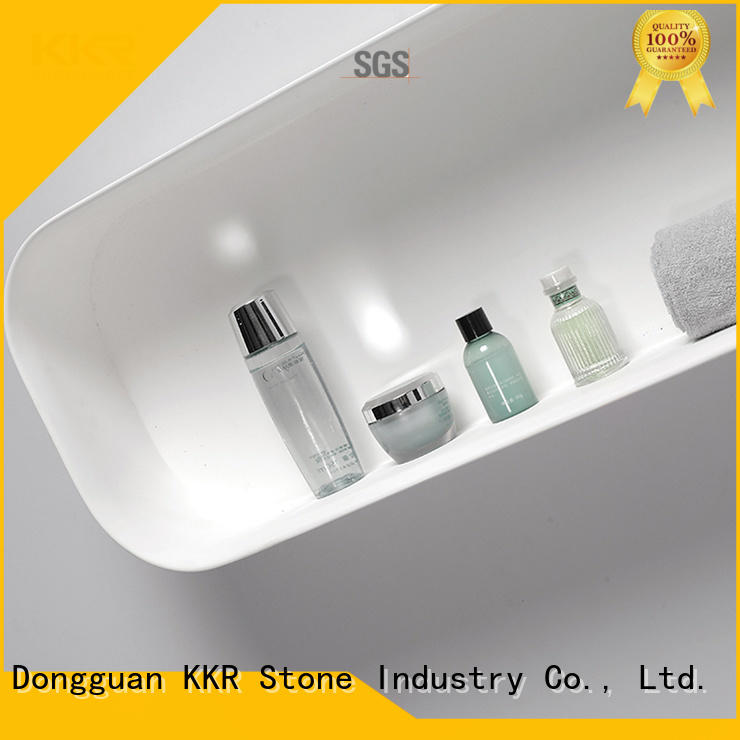 double Sink acrylic bathroom tray check now for home KKR Stone