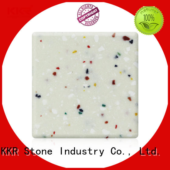 high tenacity solid surface big slabs superior stain for self-taught KKR Stone