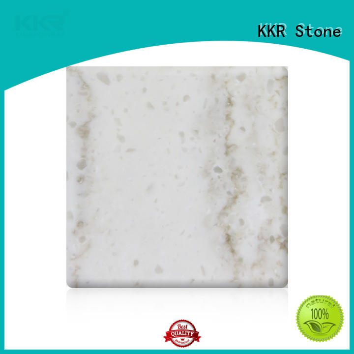 high strength veining pattern solid surface width factory for bar table