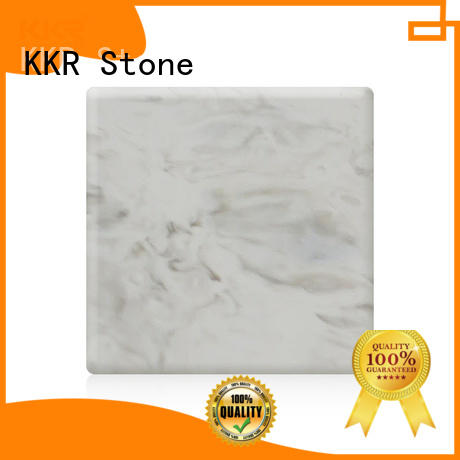 decorative solid surface panels stone effectively for garden table