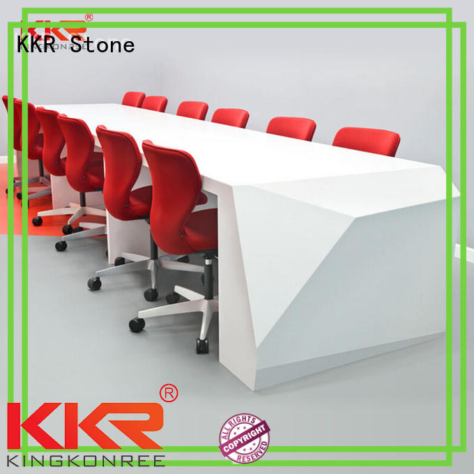 modified acrylic solid surface reception desk free quote for worktops