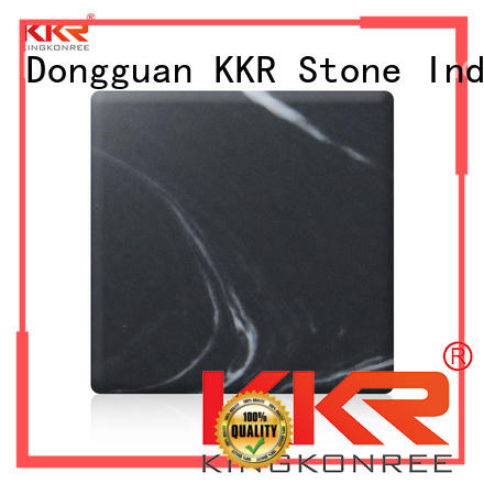 KKR Stone soild texture pattern solid surface effectively for early education