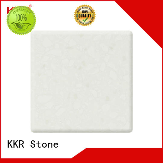 anti-pollution solid surface factory kkrm1645 superior stain for table tops
