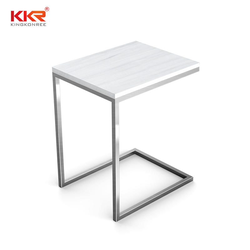 Fashion Design Acrylic Solid Surface Side Table KKR-ST01