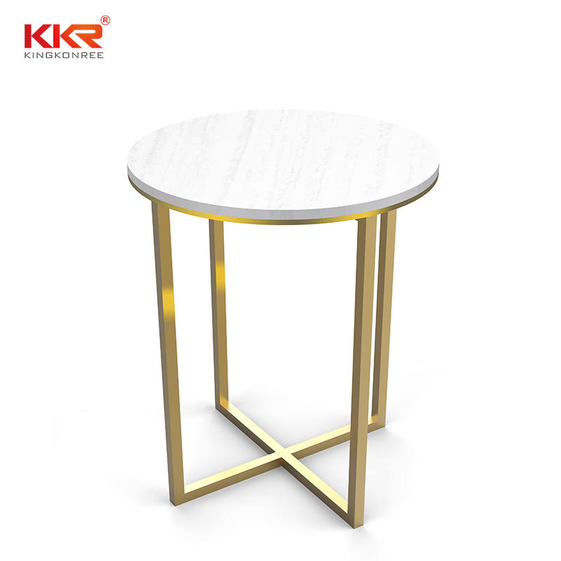 Custom Size Acrylic Solid Surface Side Table KKR-ST04