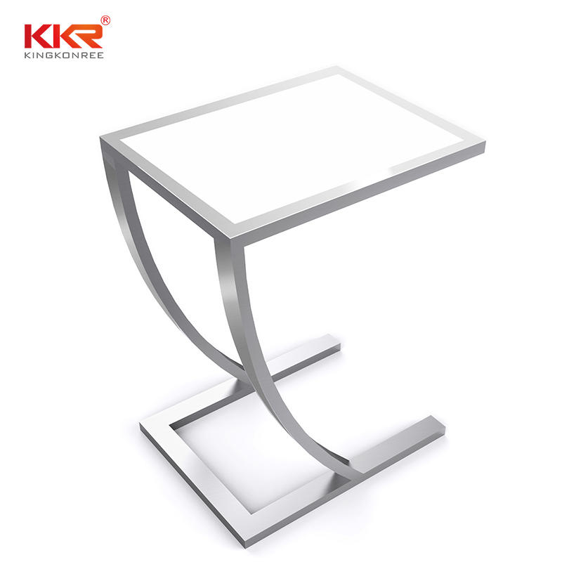 Distinct Design Acrylic Stone Solid Surface Sidetables KKR-ST06