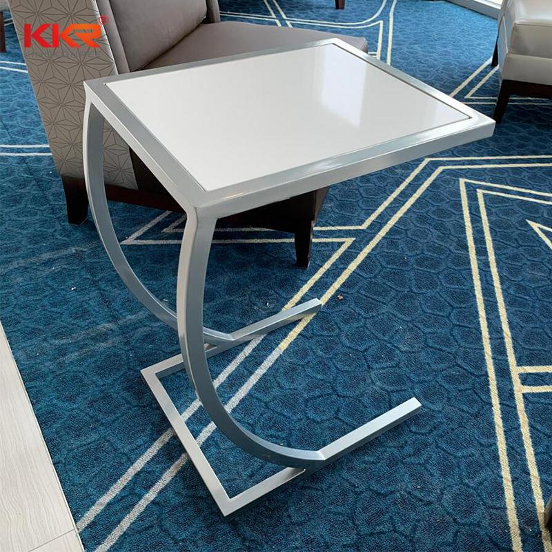 Distinct Design Acrylic Stone Solid Surface Sidetables KKR-ST06