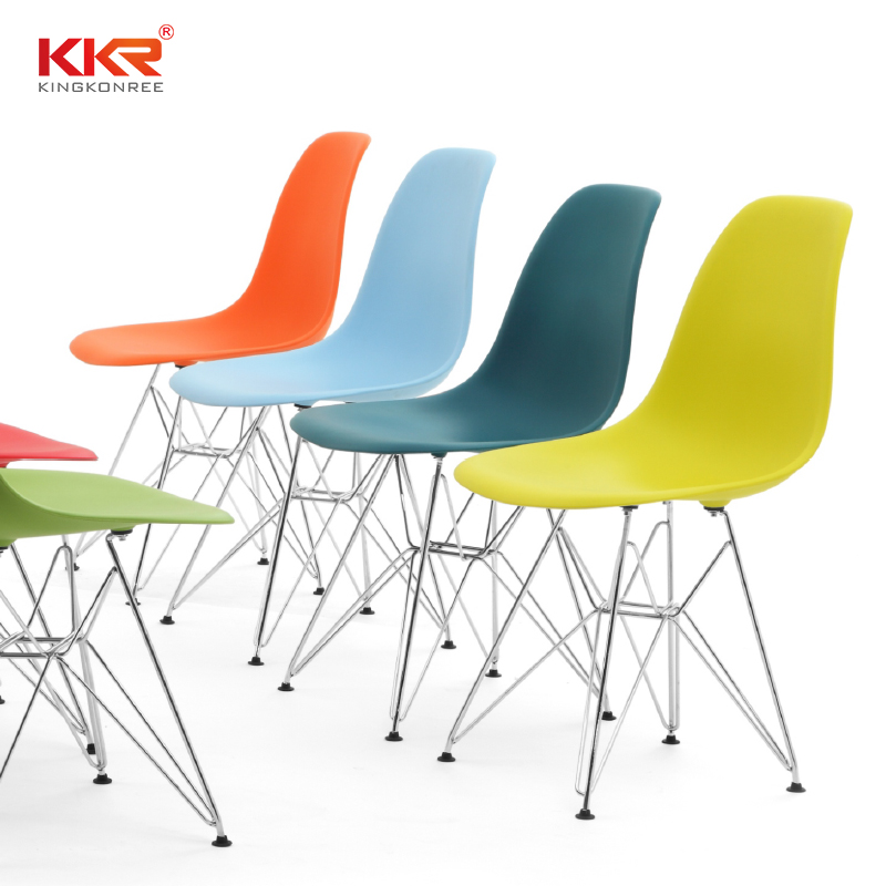 KKR Stone easily repairable plastic dining chairs price-1