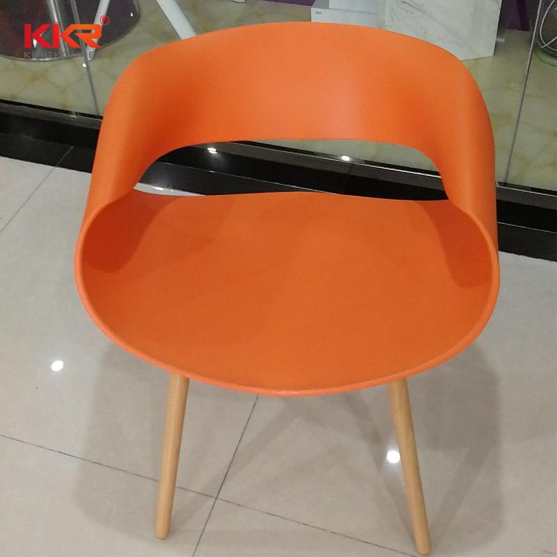 KKR Wholesale Modern Plastic Dining Chair Price for Sale KKR - PP - 158D