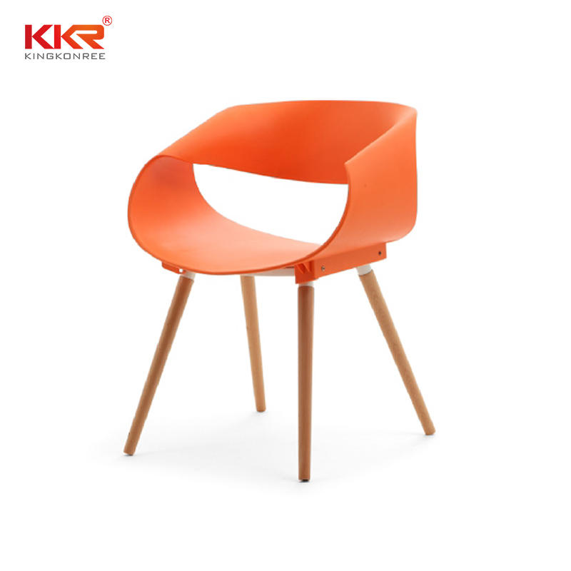 KKR Wholesale Modern Plastic Dining Chair Price for Sale KKR - PP - 158D