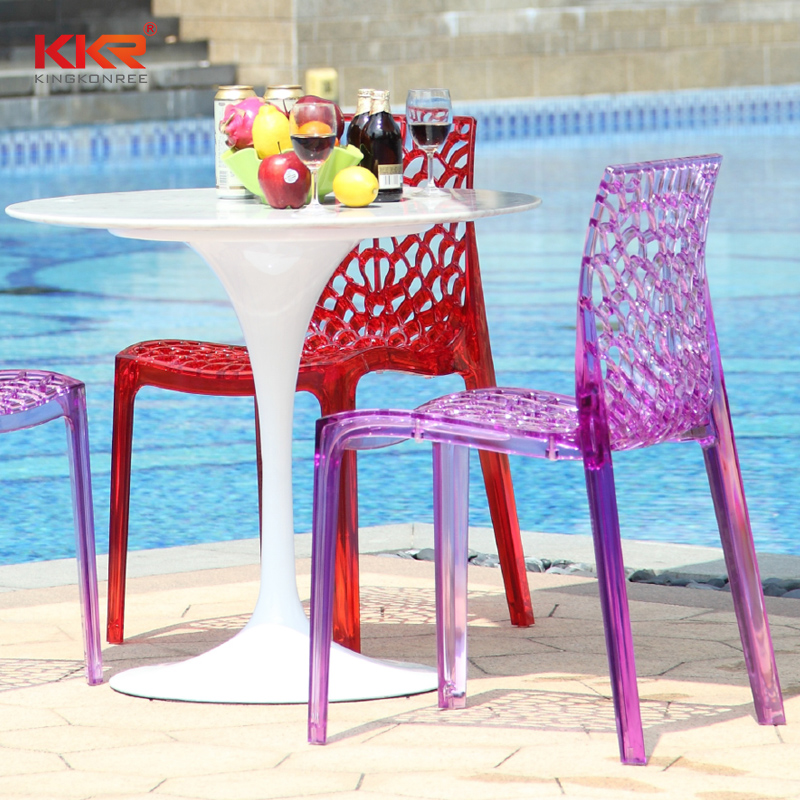 KKR Stone Warm touch dining chairs widely-use for school-2
