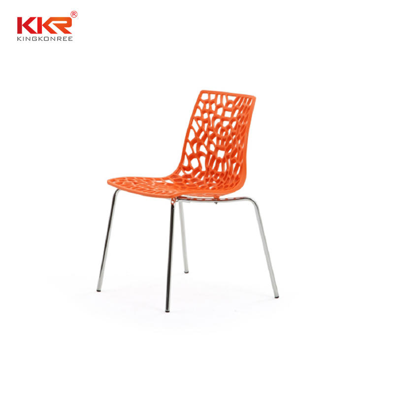 Durable Stacking Adult Plastic Chairs KKR - PC - 108C
