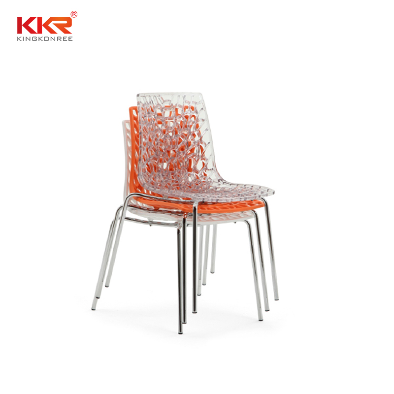 KKR Stone material plastic chairs manufacturers for garden-2