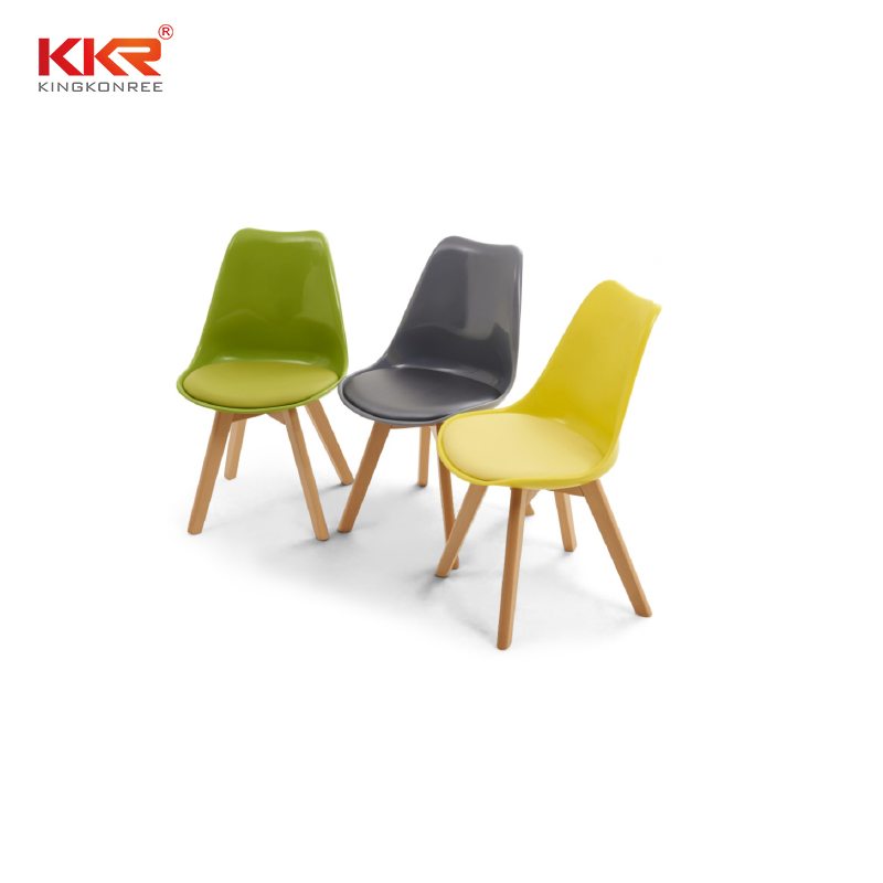 KKR Stone beautiful plastic dining chairs type for outdoor-1
