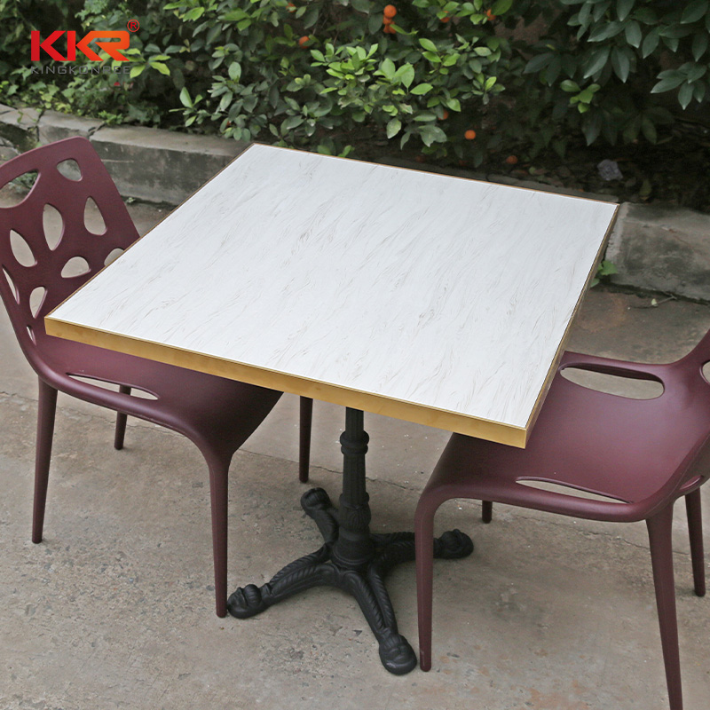 artificial stone dining table marble-1