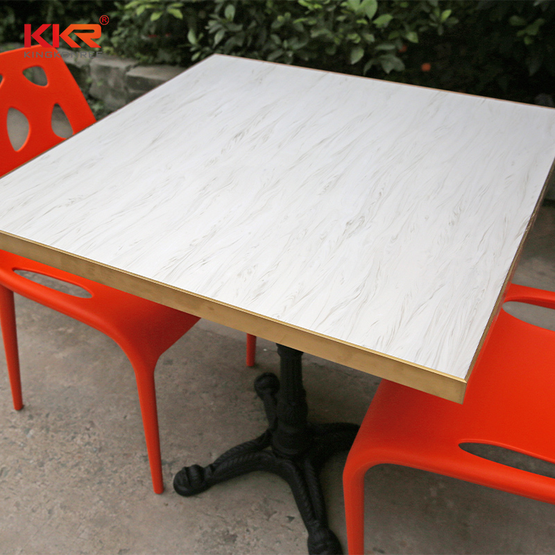 KKR Stone artificial marble dining table-1