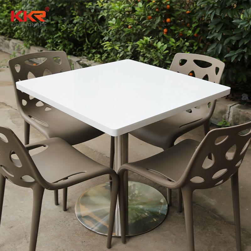 KKR Stone acrylic acrylic solid surface table tops-1