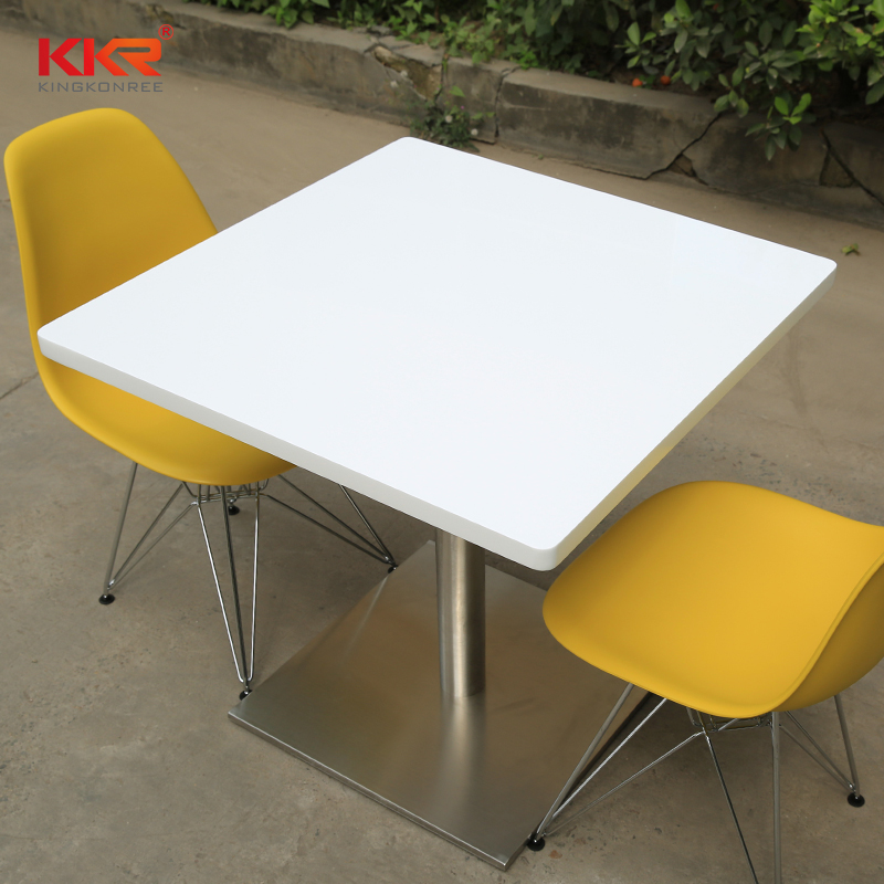 artificial marble dining table marble-2