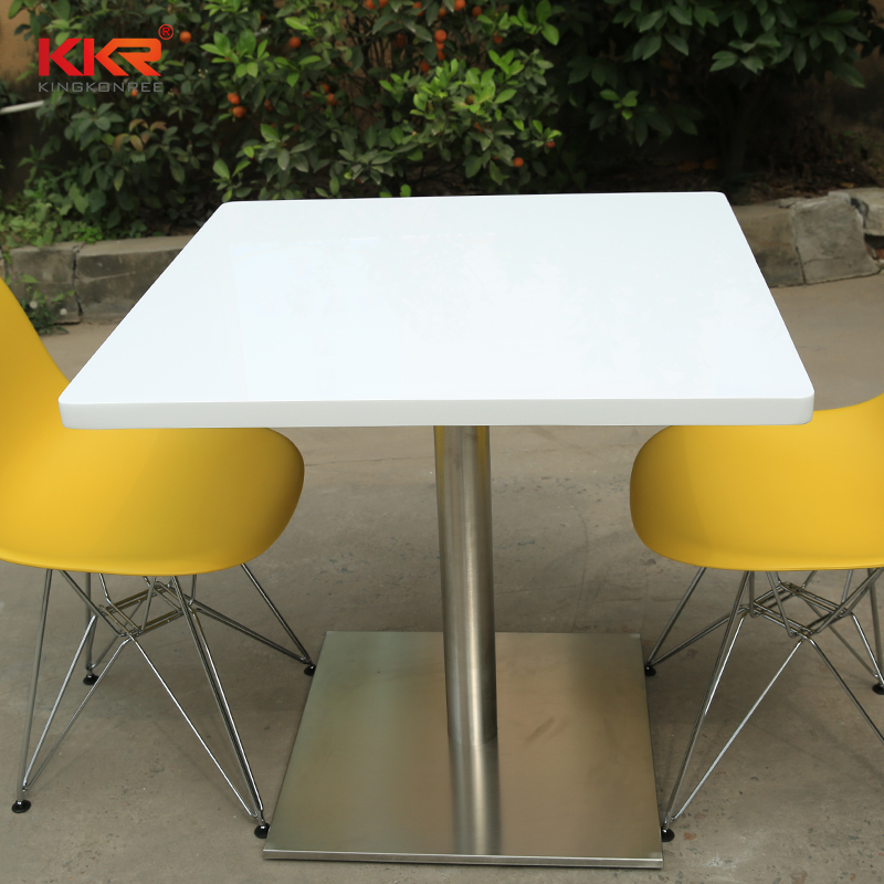 acrylic solid surface table tops restaurant-1