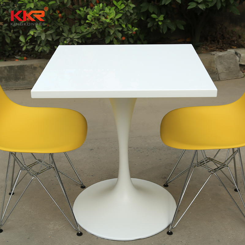 KKR Stone surface acrylic solid surface table tops-1